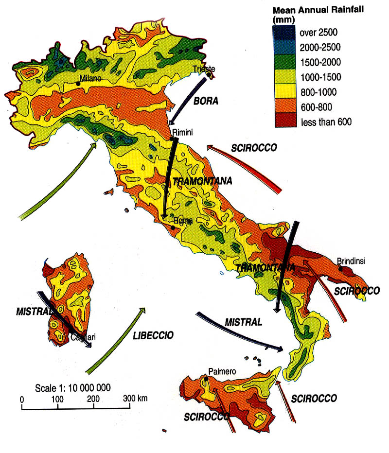 KLB School Geography: Italy   Climate